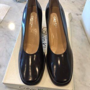 High heels brown